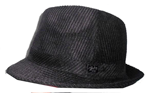 9e2a5e83 Bailey of Hollywood Men's Jaron 25231 Corduroy Fedora Hat Cap at Amazon  Men's Clothing store: