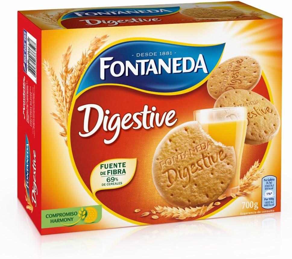 Fontaneda - Digestive - Galleta - [pack de 5]: Amazon.es: Alimentación y bebidas