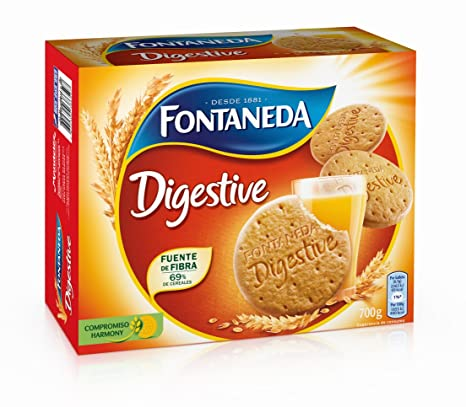 Fontaneda Digestive Galleta -700 gr