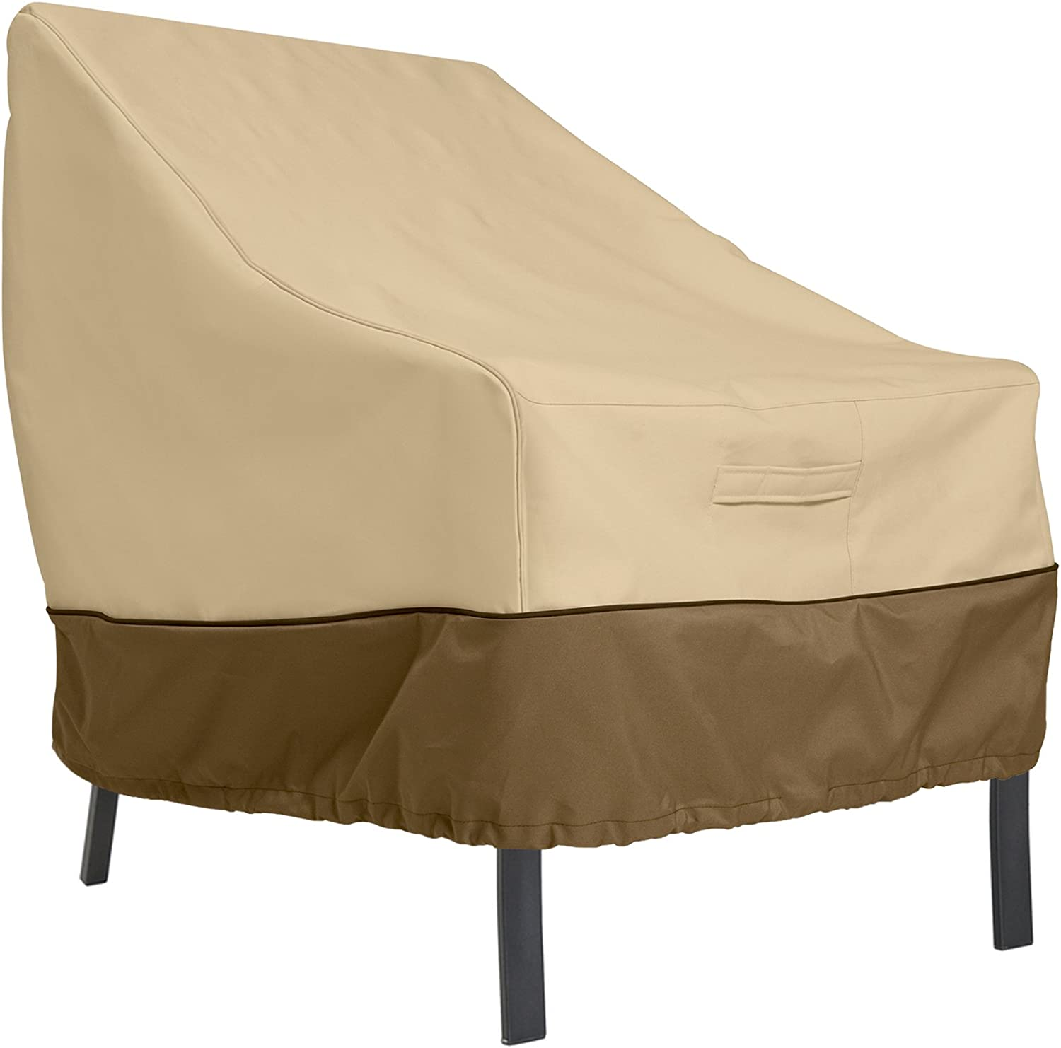 Classic Accessories Veranda Water-Resistant 38 Inch Patio Lounge Chair Cover : Veranda Furniture Covers : Garden & Outdoor