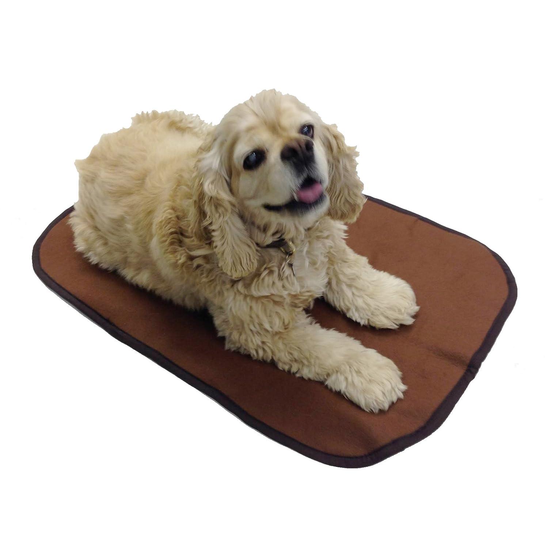 Achy Paws Self-Warming Dog Mat (Brown)