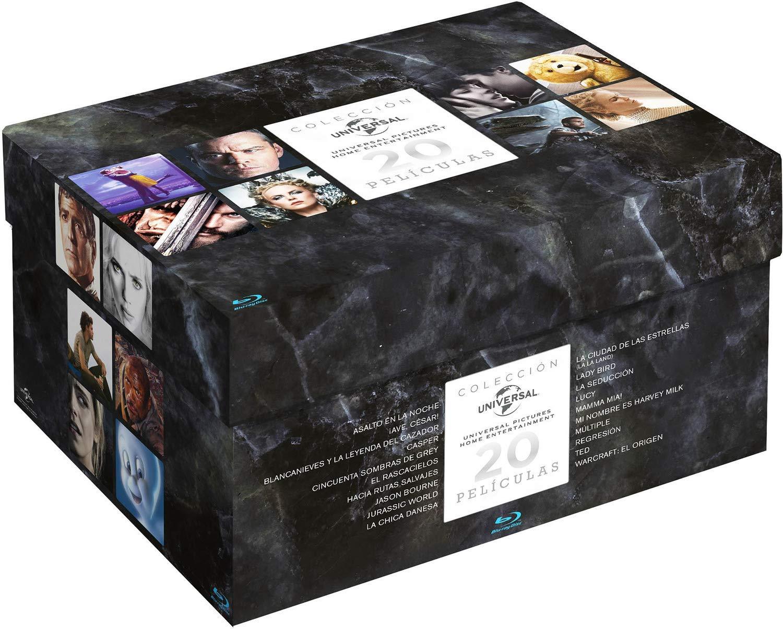 Universal Pack Navidad 2019 BD - 20 discos Blu-ray: Amazon.es: Emma Stone, Scarlett Johanson, Dakota Johnson, Saoirse Ronan, Vv.Aa, Emma Stone, Scarlett Johanson, Universal Pictures: Cine y Series TV