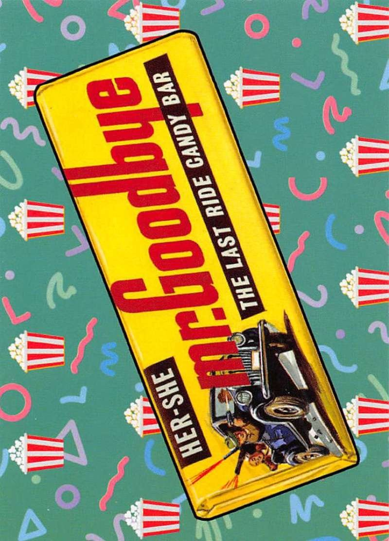 2018 Topps Wacky Packages Go to the Movies Concession Stand Stickers #3 Mr. Goodbye