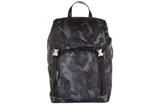 7a0b8be3f6 Prada zaino borsa uomo nylon originale camouflage blu: Amazon.it: Scarpe e  borse