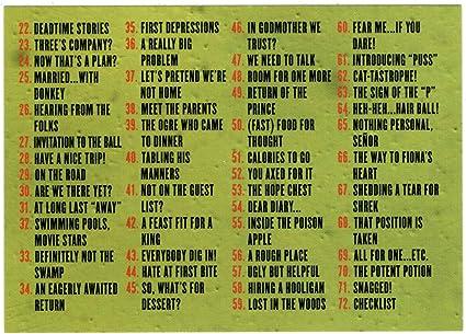 Amazon Com Checklist Shrek 2 Trading Card 67 Cards Inc 2004 Mint Toys Games