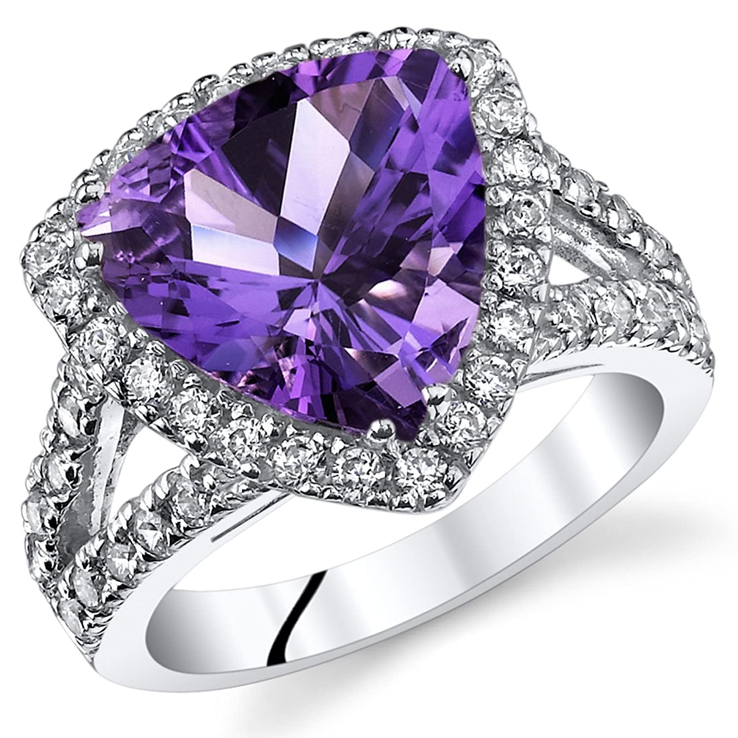 ring sterling natural pillows fine amethyst in from lamoon anillos rings item cut women square purple engagement silver jewelry