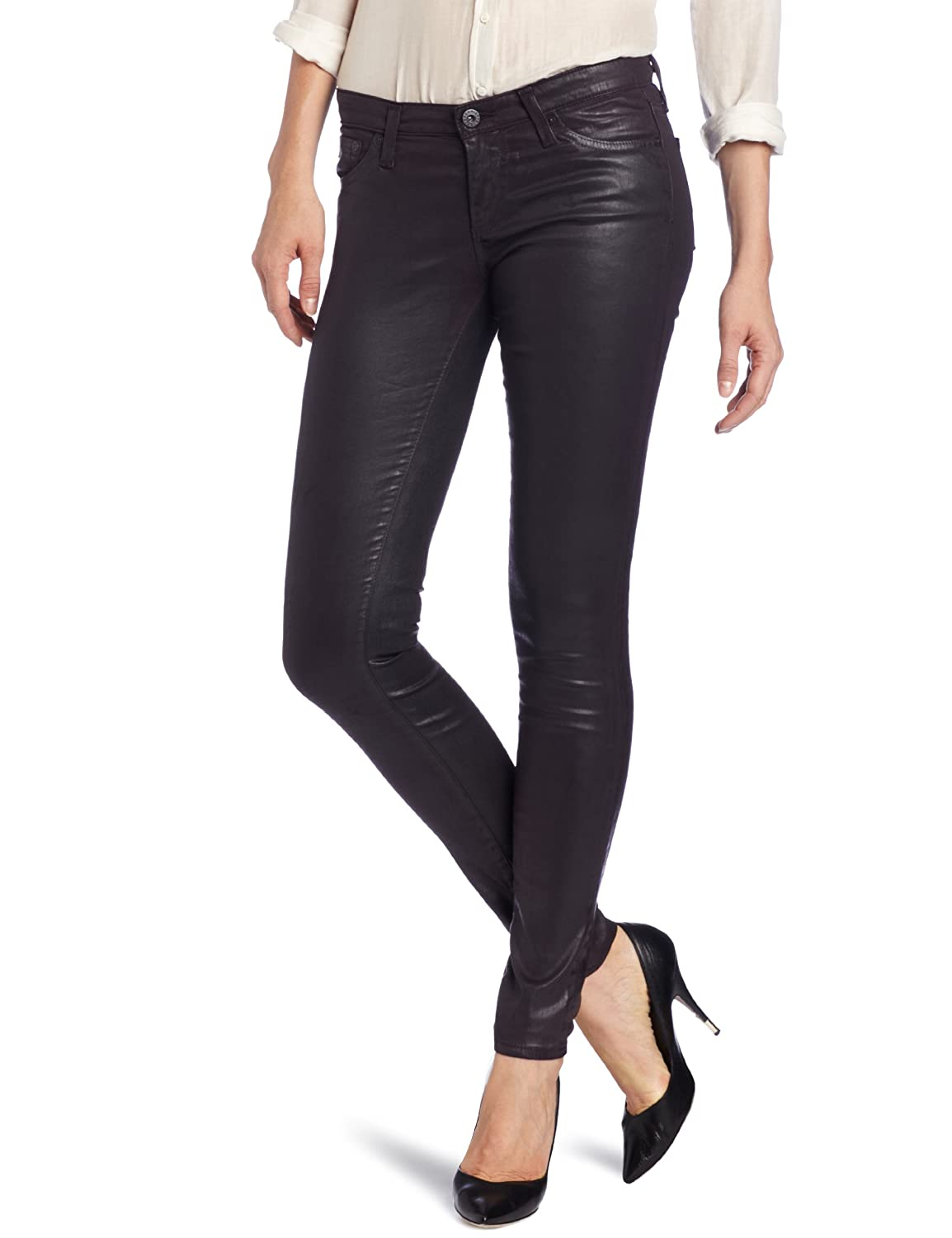AG Adriano Goldschmied Women's Leatherette Legging LSN1288