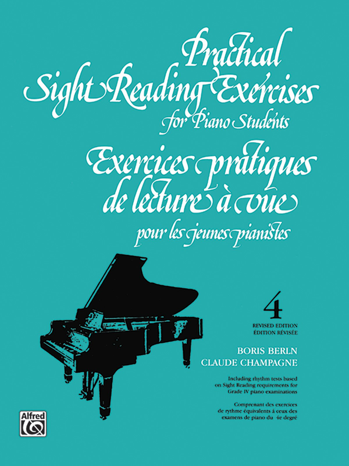 Practical Sight Reading Exercises for Piano Students, Book 4
