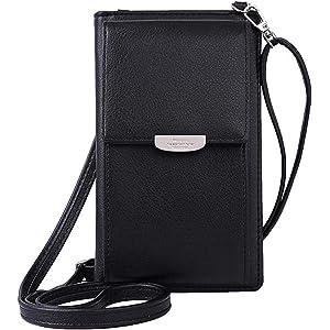 c3026141c8c LIDASEN small bag Women Wallet Cross-body Bag Leather Purse Coin ...