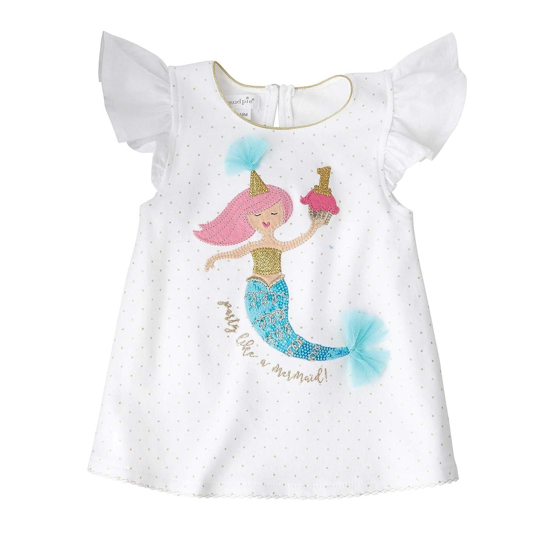 Toddler Mud Pie Baby Girls 2nd Birthday Mermaid Tunic