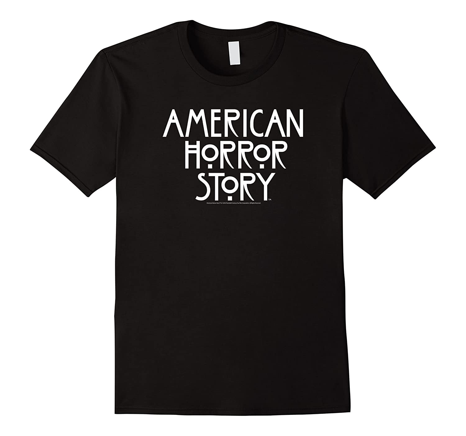 American Horror Story AHS Stacked Type Logo-TJ
