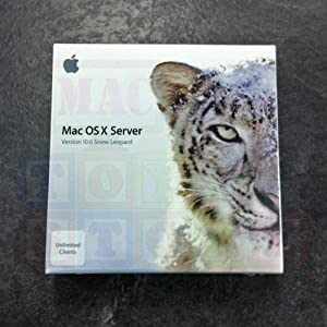 Mac Os X Server 10.6 Snow Leopard --DVD