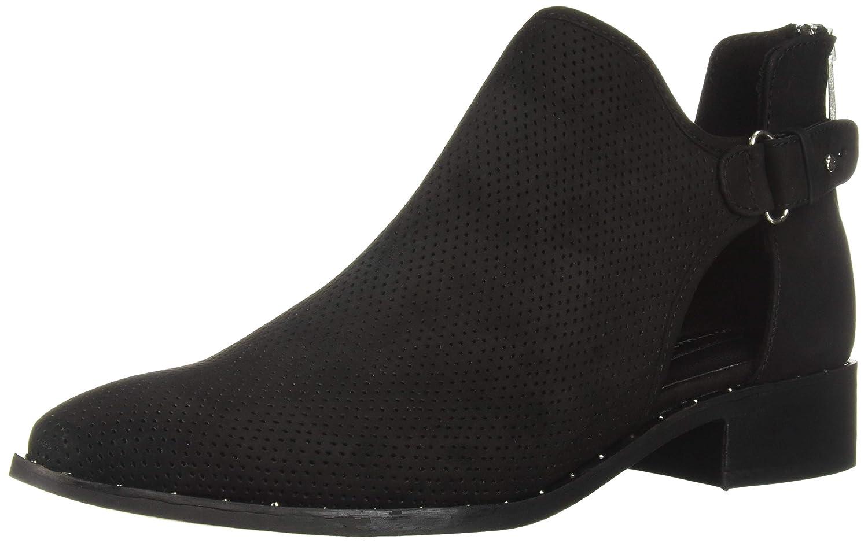 Black Nubuck STEVEN by Steve Madden Womens Cusp Ankle Boot