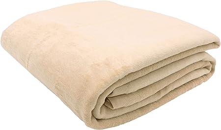 Zollner Wolldecke Beige 150 X 200 Cm Baumwollmix Viele Farben Grossen Amazon De Kuche Haushalt