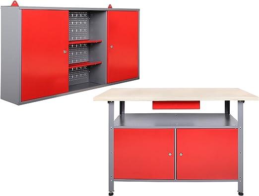 Equipamiento de taller armario de herramientas banco de trabajo ...
