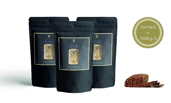 Mezcla para hornear pan de proteínas Sin Carb 3x200g. - 20% de contenido proteico