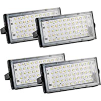4 Pack Security Lights with Motion Sensor, IP65 Outdoor Waterproof Floodlights, 50W Super Bright LED Security Lighting…