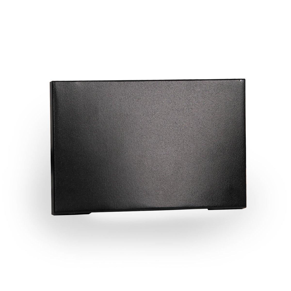 WAC Lighting WL-LED110-C-BK LED Horizontal Scoop Step and Wall Light 120V 3000K, Black