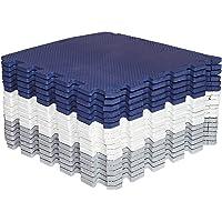 Amazon Brand - Umi 1 'x 1' 30cm x 30cm In elkaar grijpende deurmattenPuzzelmatten Zachte schuimmatSpeelmatGymnastiekmat…