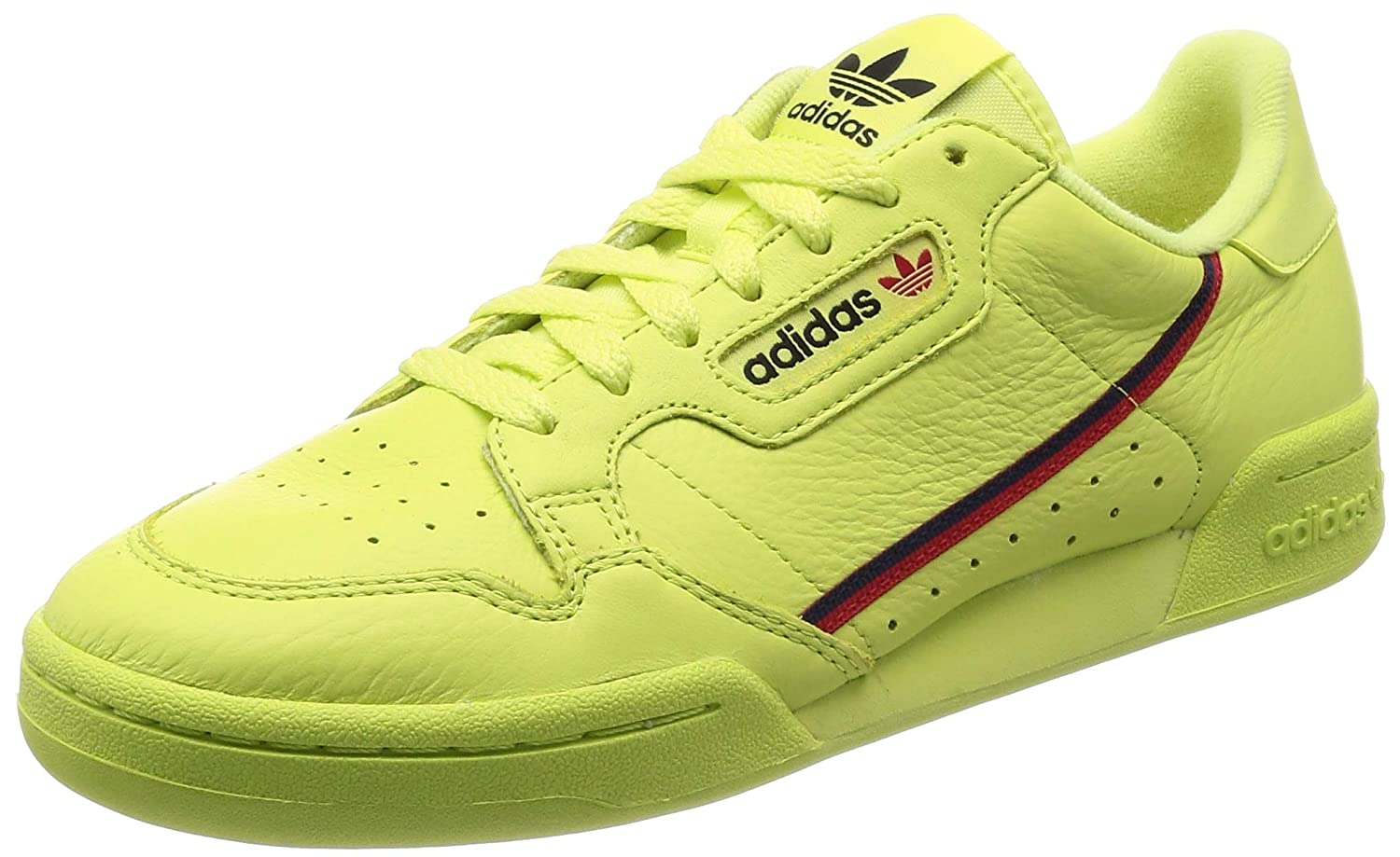 Multicoloured (Seamhe Escarl Maruni 0) adidas Men's Continental 80 Fitness shoes