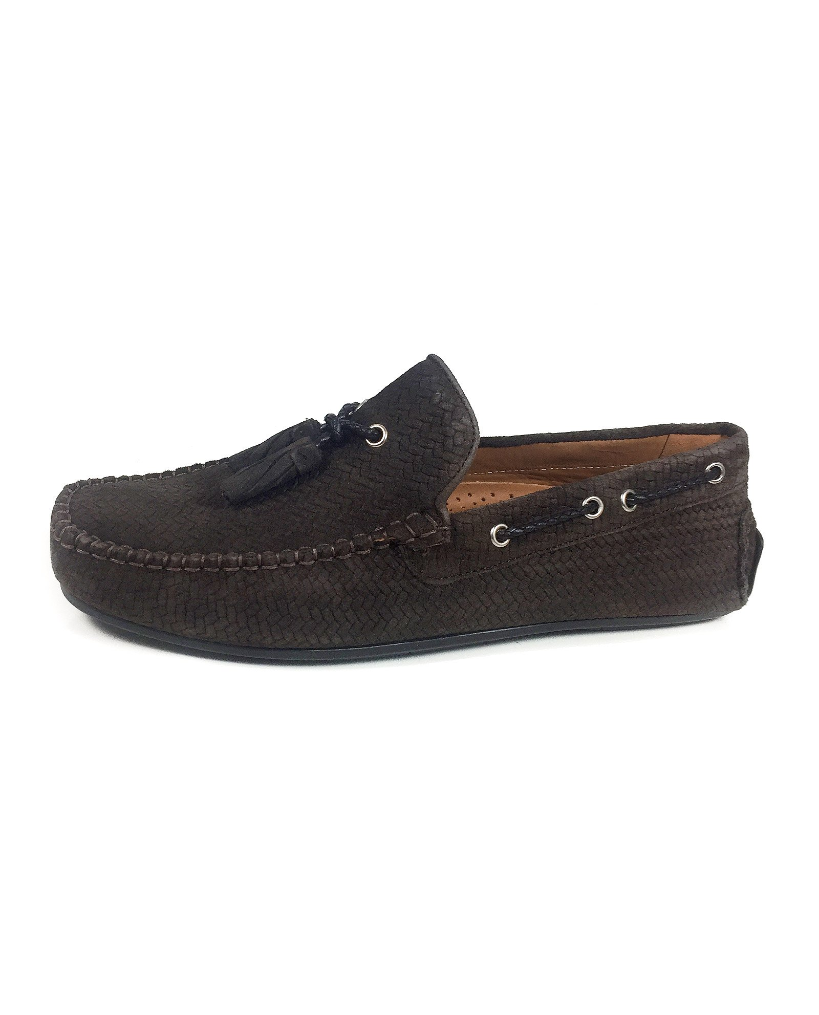 Zara Men Brown leather loafers 2601/302 (44 EU | 11 US | 10 UK)
