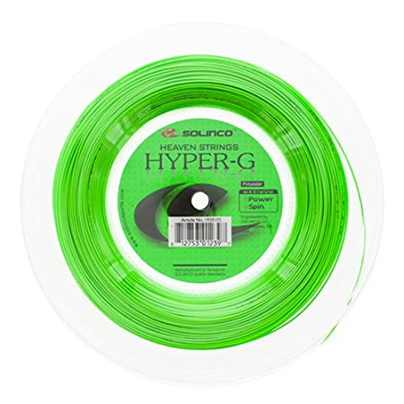 HyperG Tennis String Reel, 16G/ Racquet Strings at amazon