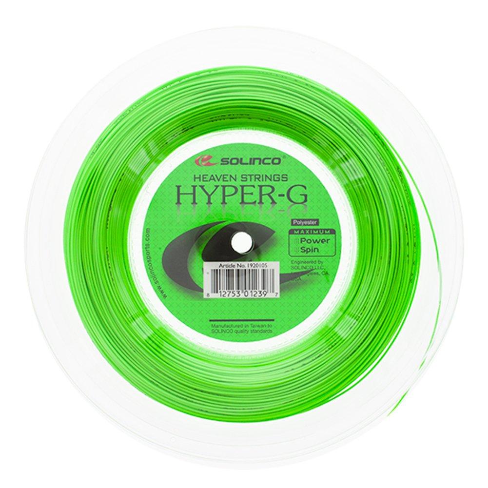 Solinco Hyper-G (16-1.30mm) Tennis String Reel (660ft/200m)
