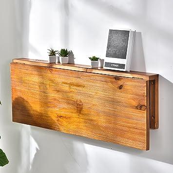 Kiefer Wand Hängende Klapptisch Wand Montiert Beistelltisch Küche Esstisch  Computer Schreibtisch