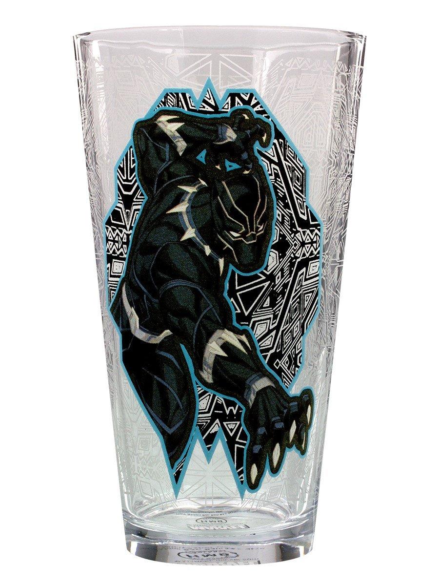 Marvel Black Panther Large Glass Half Moon Bay GL01MV07