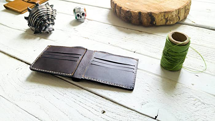 Dark Brown wallet | mens wallet | Gift | without logo| father | boyfriend |