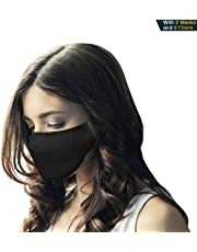 N95 Respirator Mask (Pack of 2 Masks 8 Filters) - Breathing Mask, Pollution Mask Filter and Allergy Mask for Pollen and Protect Against Illness, Allergens, Pollutants and Maintain Better Health