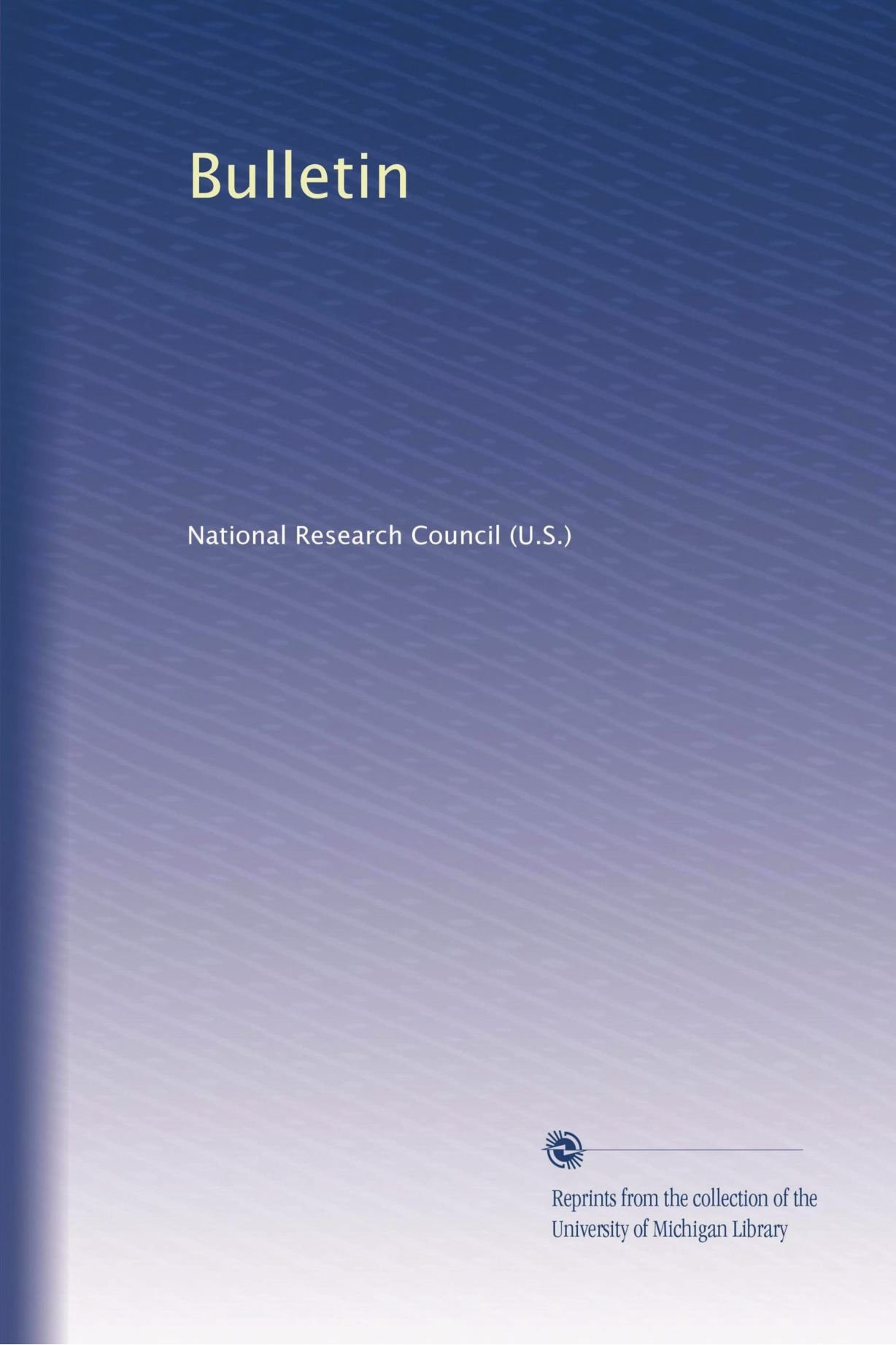 Download Bulletin (Volume 3) ebook