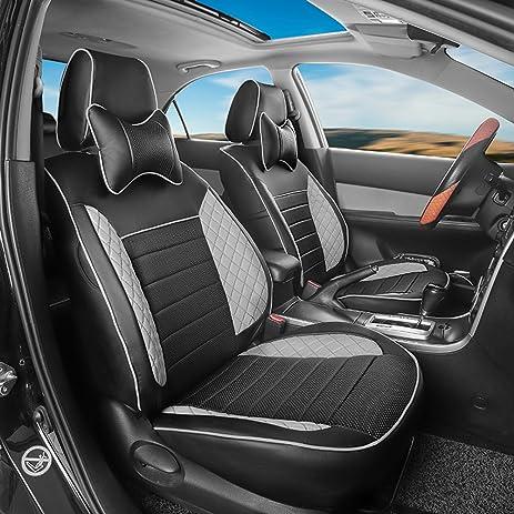 Amazon.com: AutoDecorun Custom Fit Seat Covers Set For Peugeot 206 ...