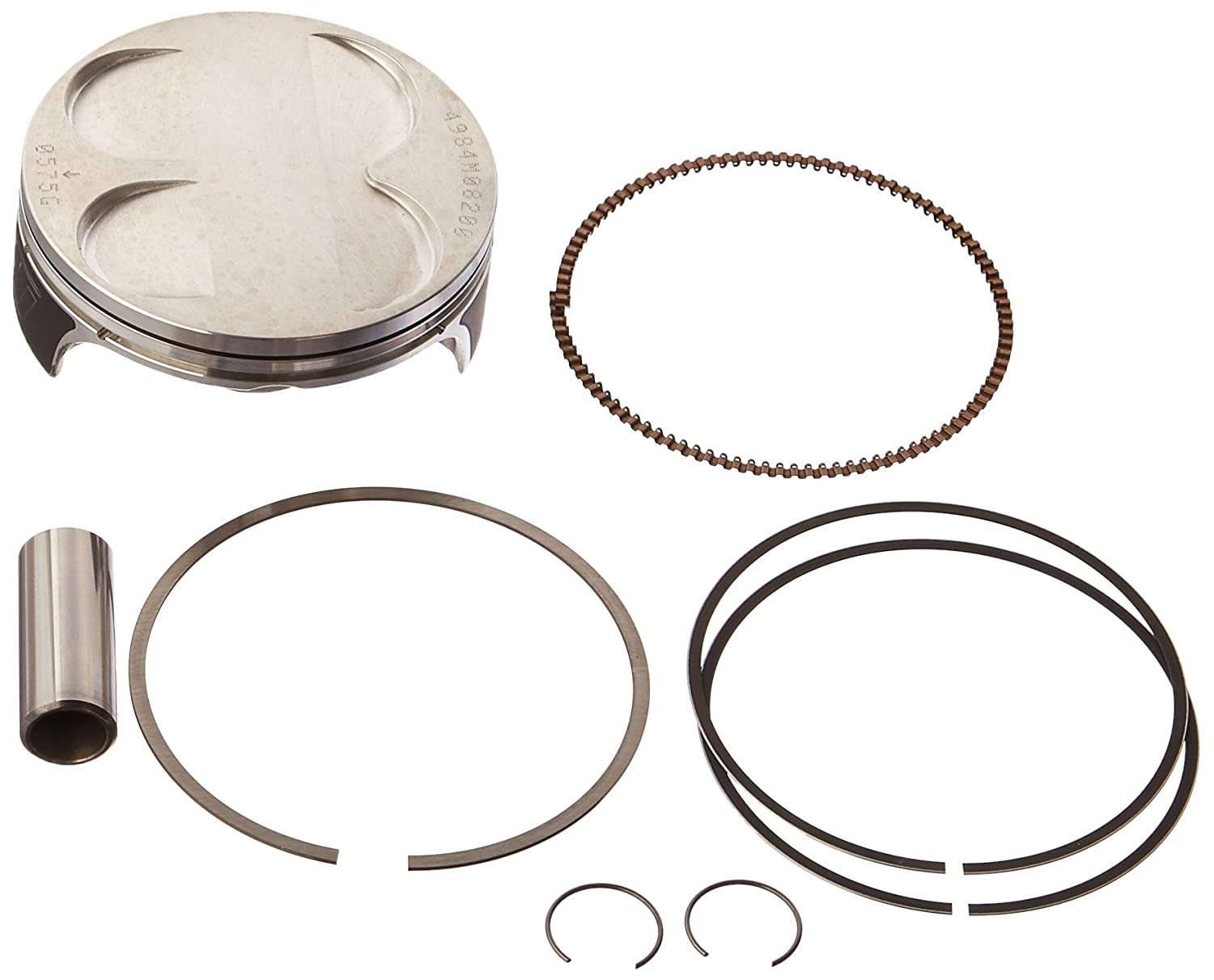 Wiseco 4984M08200 82.00mm 13.5:1 Compression 276cc Motorcycle Piston Kit