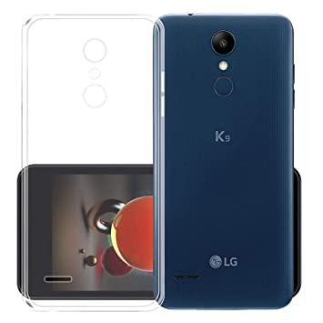 AQGG Funda para LG K9 / LG K8 2018 Transparente TPU Case Silicone ...