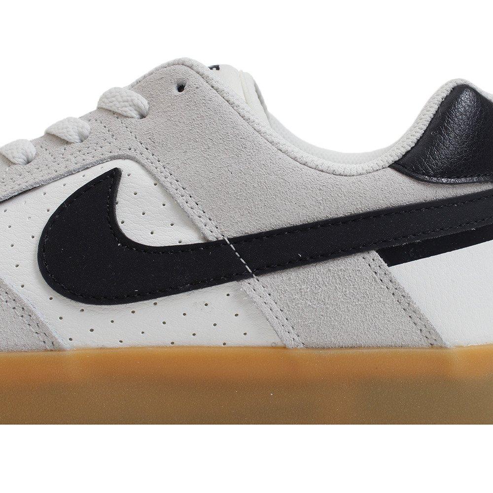 Amazon.com | Nike SB Delta Force Vulc Shoes Summit-White/Black-Gum 8 | Skateboarding