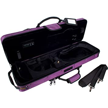 794cbb27b4d1 Protec 4/4 Violin Travel Light Violin PRO PAC Case - Purple, Model PS144TLPR