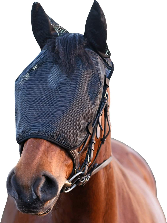 Equilibrium - Máscara malla de alivio de montar para caballos