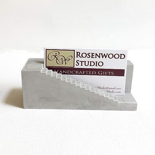 Merveilleux Concrete Stair Business Card Holder
