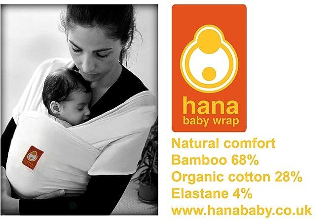 Hana Bamboo Baby Wrap Organic Various Colours Light Lush And