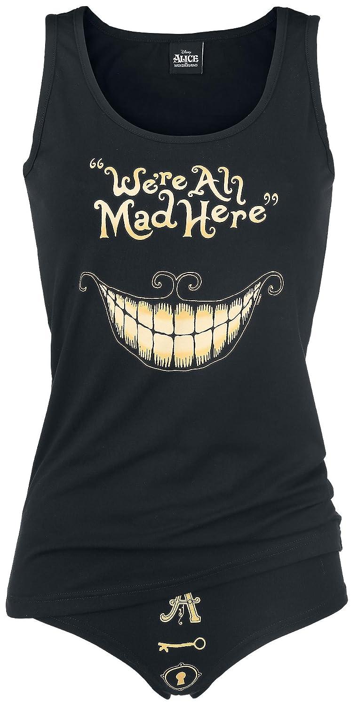 Alice In Wonderland Mad Mouth Girl set black