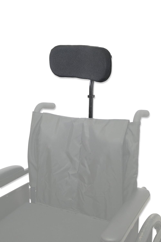 Curved Headrest Pad for Wheelchair Headrest