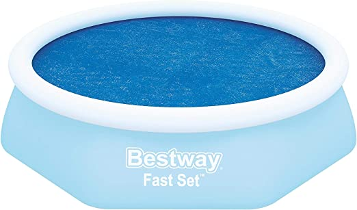 Bestway Fast Set Solar Swimming Pool Cover 12 Feet with Carry Bag