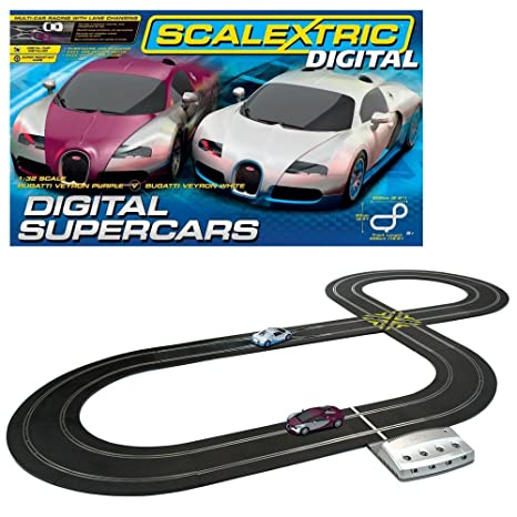amazon com scalextric digital supercars set 1 32 scale toys games rh amazon com Scalextric Digital Track vs Grey Black Scalextric vs SCX Digital
