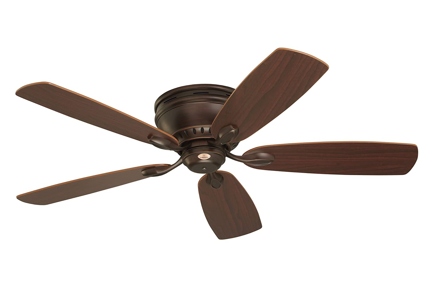 Emerson Ceiling Fans CF905VNB Prima Snugger 52 Inch Low Profile Fan With Wall Control Light Kit Adaptable Venetian Bronze Finish