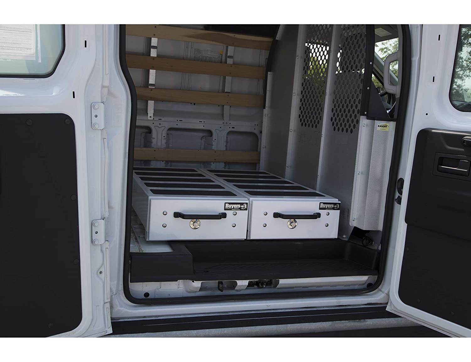 Buyers Products 1718015 Silver 9 X 48 X 40 inches Truck Bed Box with Drawers
