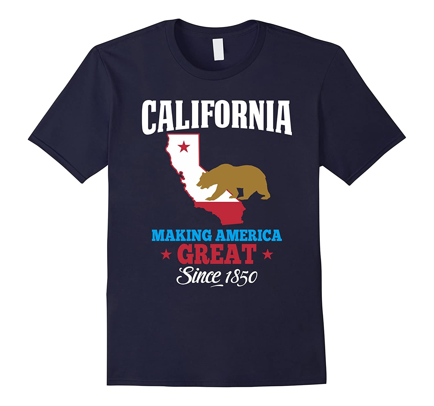 California T-shirt. Making America Great Graphic T-shirt.-FL