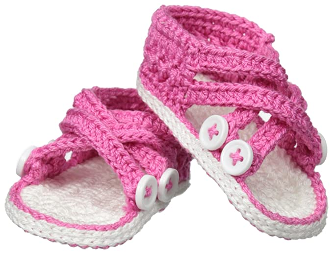 Amazoncom Jefferies Socks Baby Girls Newborn Criss Cross Sandal
