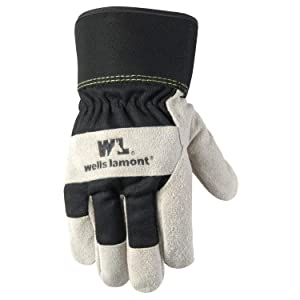 Men's Heavy Duty Winter Work Gloves with Cowhide Leather Palm, Extra Large (5130XL)