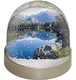 Advanta ruhigen See Foto Snow Globe Schneekugel Strumpffüller Geschenk, mehrfarbig, 9,2x 9,2x 8cm